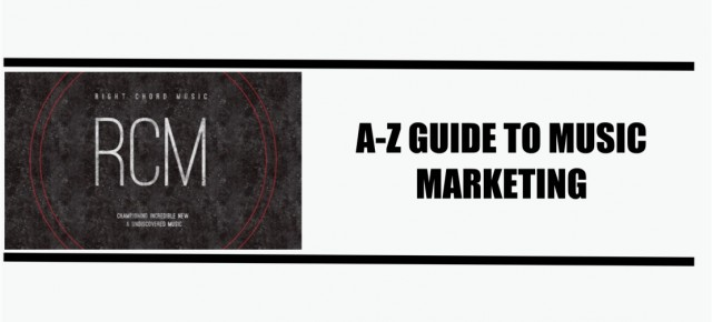 Get your FREE copy of the Right Chord Music A-Z Of Music Marketing