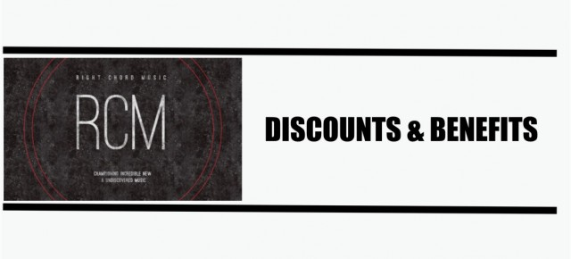 Right Chord Music. Discounts & Benefits