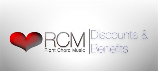 Right Chord Music. Discounts &amp; Benefits
