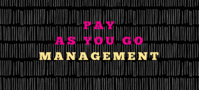 Pay As You Go Management