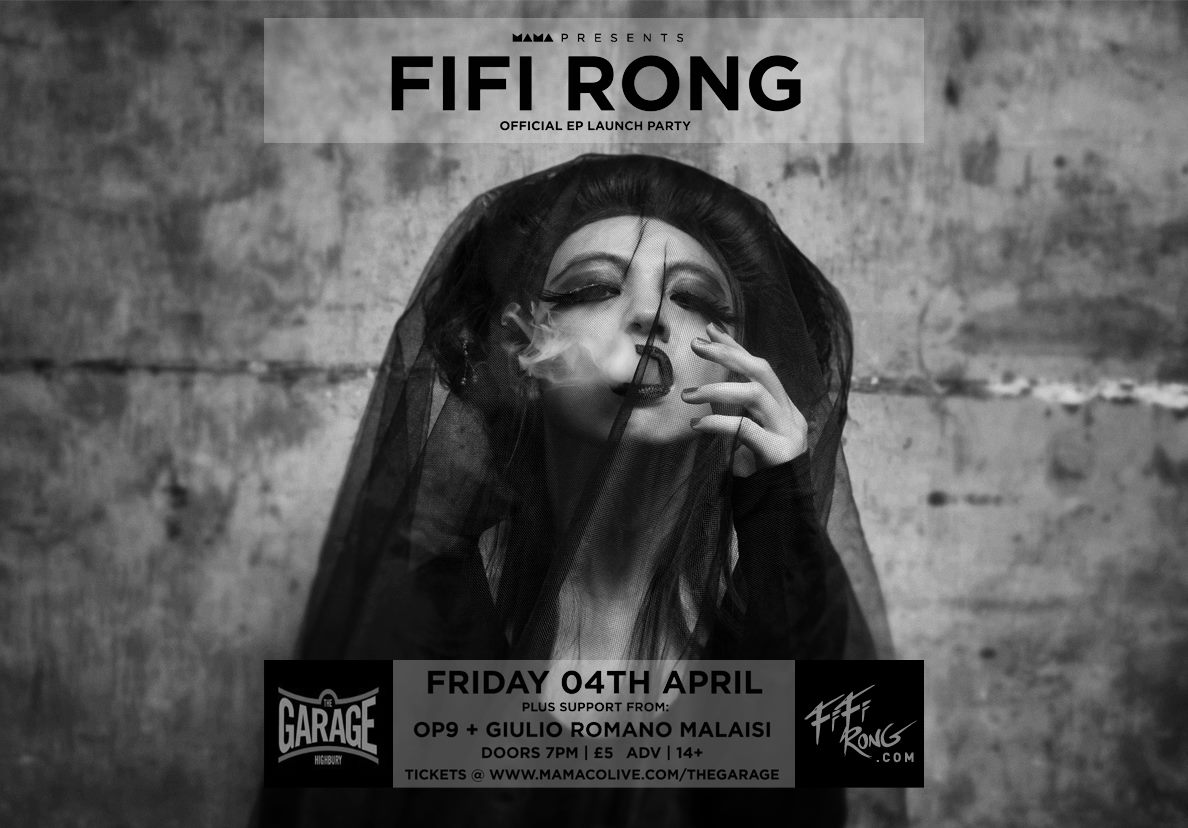 Fifi-Rong-EP-Launch-Party-flyer