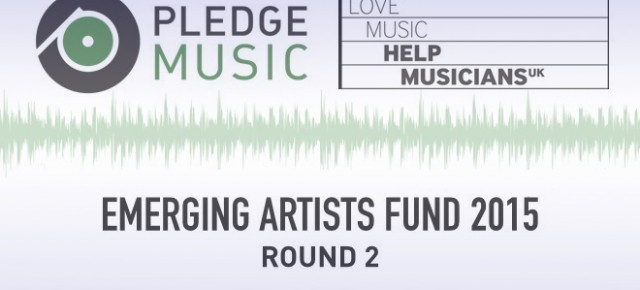 Pledge Music & Help Musicians UK - Emerging Artist Fund