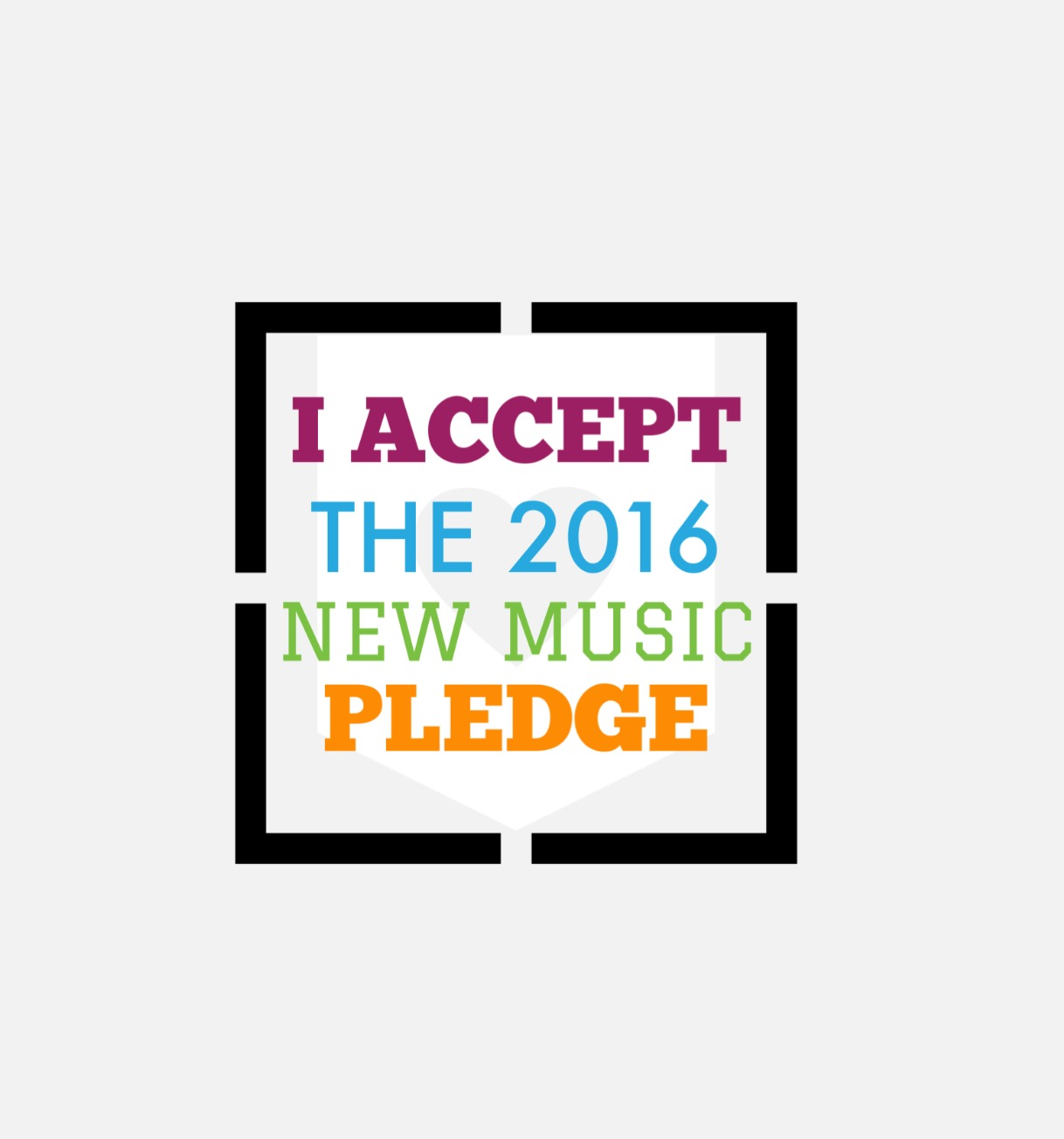 2016 New Music Pledge