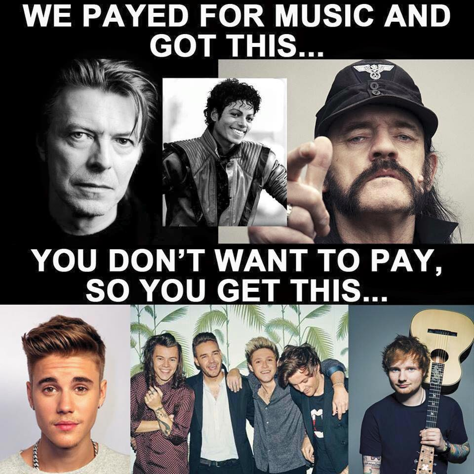 Payed For Music