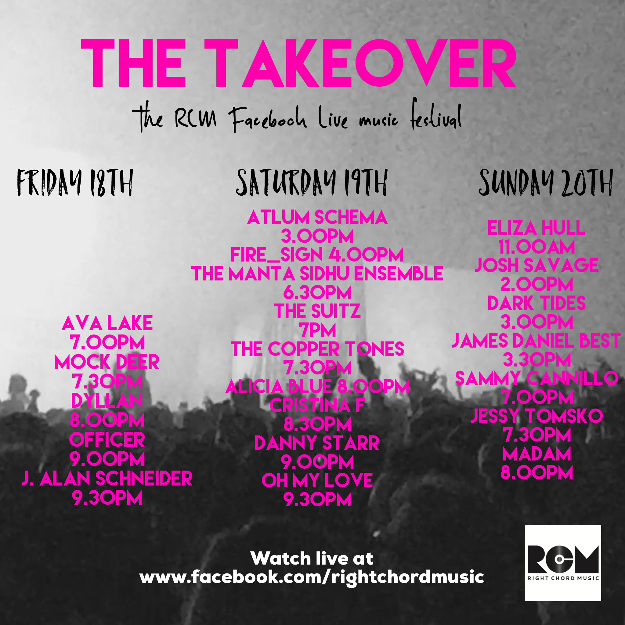 TakeoverLineup
