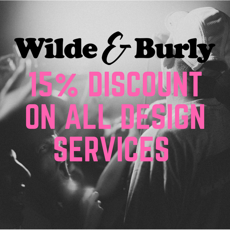 15% Discount On Design Services From Wilde & Burly Image