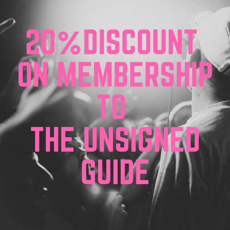 20% Discount To The Unsigned Guide Image