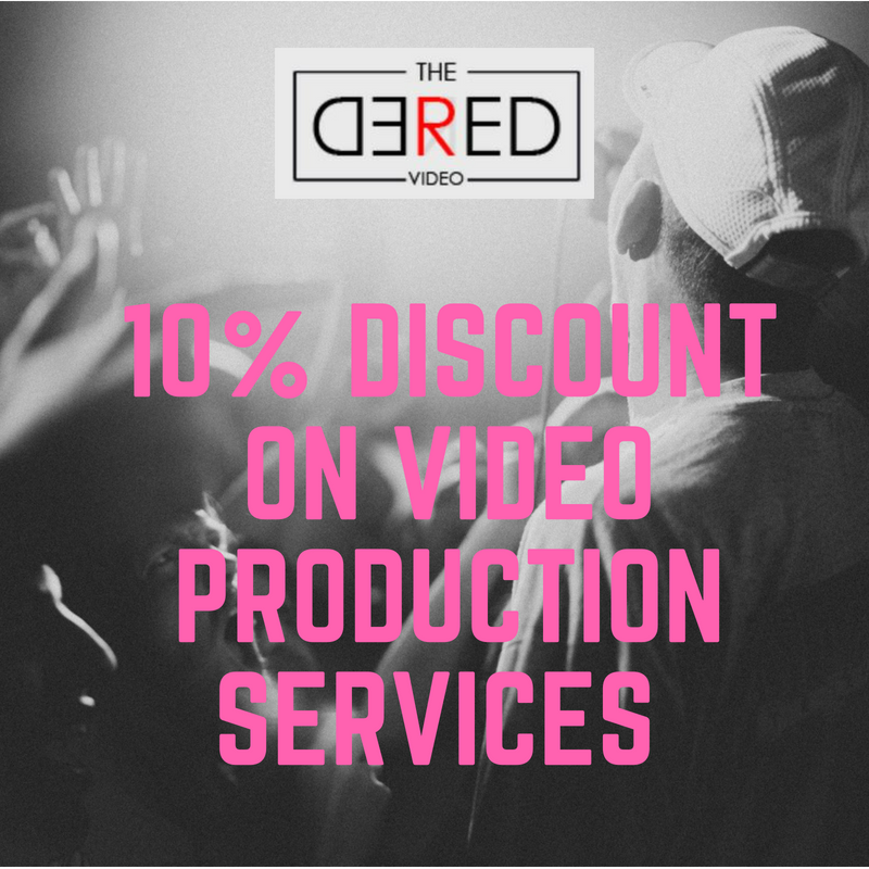 10% Discount From The Red Red Video Image