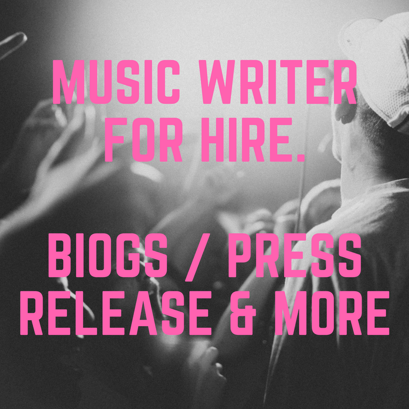 Music Writer For Hire Image